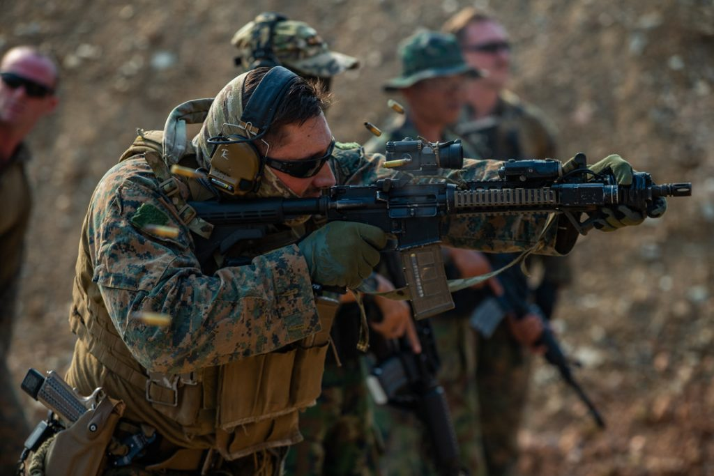 Marine Corps Rifle Marksmanship begins with learning the 4 weapons safety rules